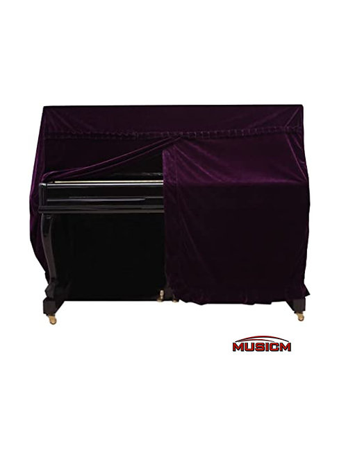 Upright Piano Cover Purple