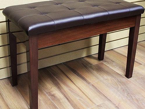 Piano Bench with book storage Dark Brown Brand New