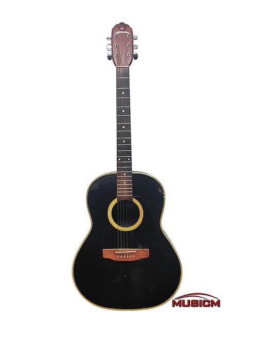 Roundback Acoustic Guitar Black