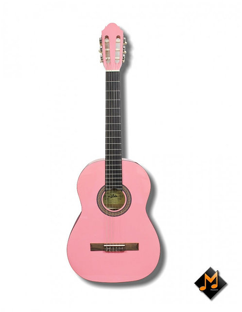 Classical Guitar Full Size Colour Pink