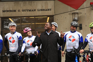 Harvard Leadership Institute for Faith & Education Dr. Irvin Scott_cyclists