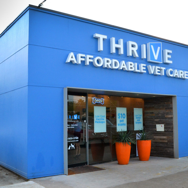 THRIVE AFFORDABLE VET CAR