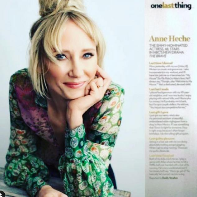 ANNE HECHE / VERDA / PEOPLE MAGAZINE