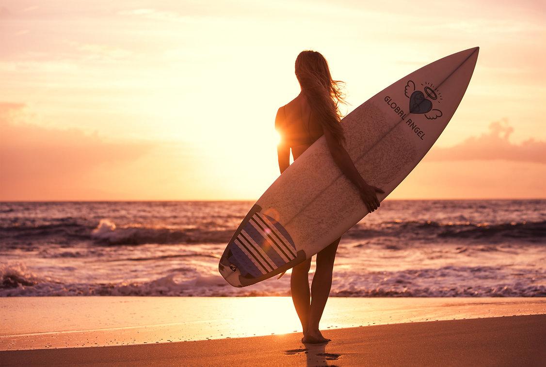 Global Angel Surf Girl