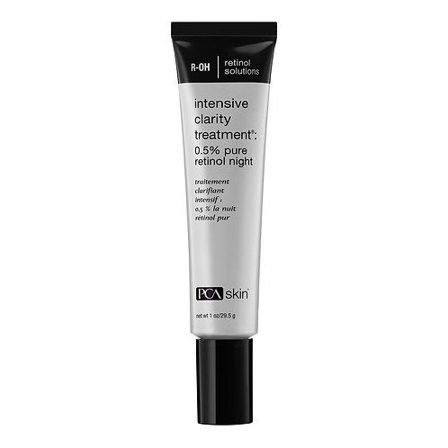 PCA Skin Intensive Clarity Treatment®: 0.5% pure retinol night