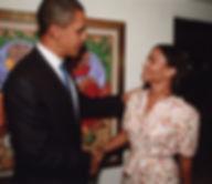 Chef Kai Chase President Barack Obama