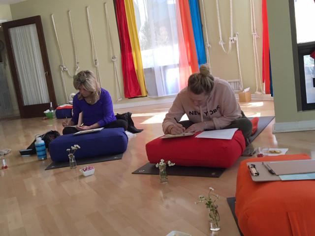 Pen2Paper YogaLoft Workshop