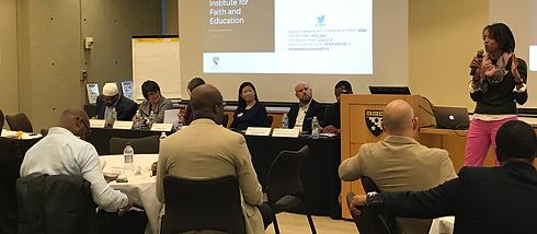 Harvard Leadership Institute for Faith & Education 2018 convening