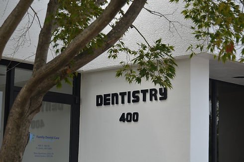 FS_Dentistry Sign Side.JPG