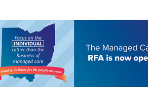 Ohio Department of Medicaid Releases Managed Care RFA