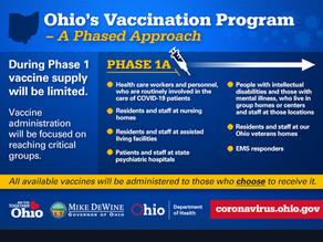 Ohio COVID-19 Vaccine Plan Unveiled
