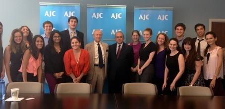 Armenian Assembly Terjenian-Thomas Internship: American Jewish Committee Hosts Assembly Interns