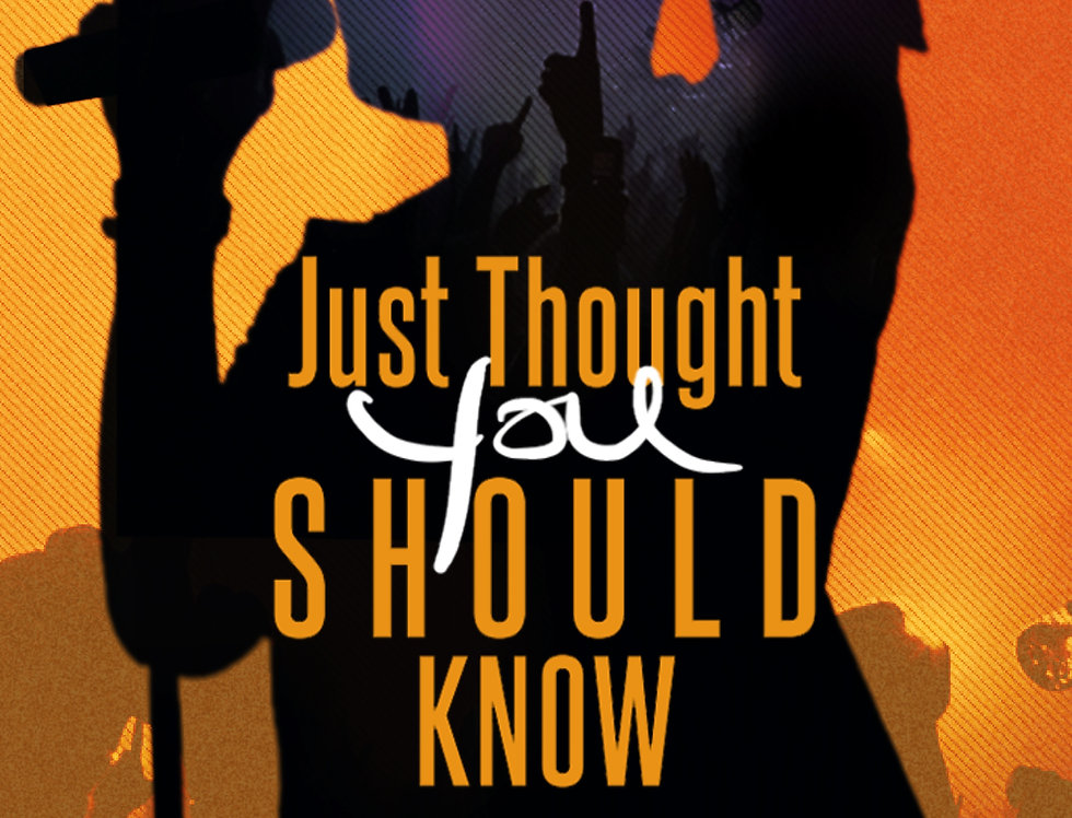 Just Thought You Should Know (Book)