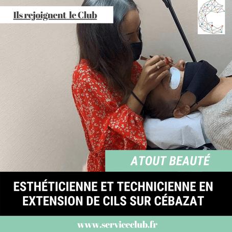 Atout Beauté rejoint le Club !