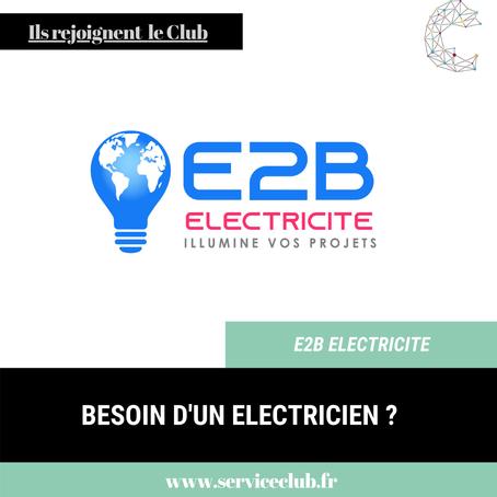 E2B Electricité rejoint le Club !