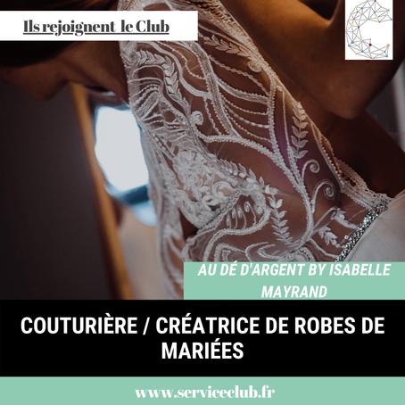 Au Dé D'Argent by Isabelle Mayrand rejoint le Club !