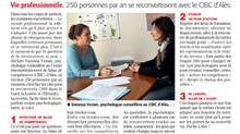 Reconversion professionnelle : zoom sur les activités du CIBC GLH dans la Presse