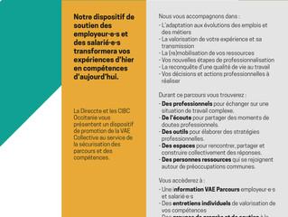 VAE Collective - un dispositif d'accompagnement au sein des entreprises