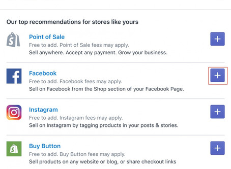 Optimised For Sales With A Facebook or Instagram or Messager Shop