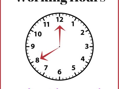 Maximum Weekly Working Hours - The 48-hour week