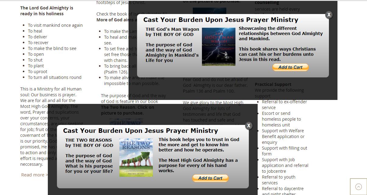Cast Your Burden Upon Jesus