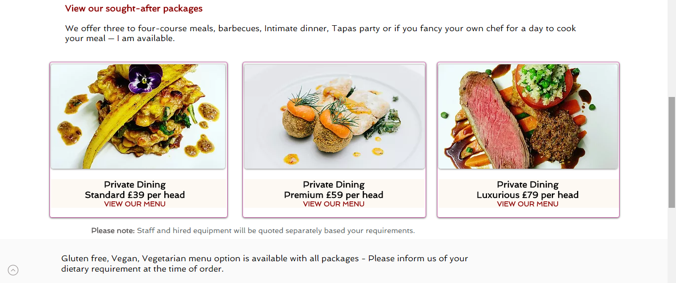 TS - Private Chef and Event Catering