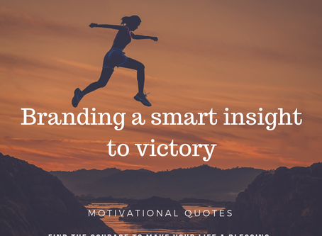 Branding a smart insight to victory