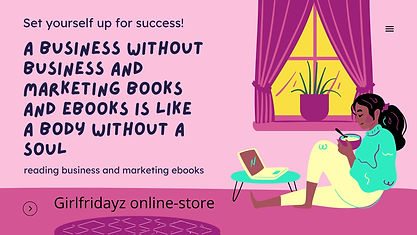 Girlfridayz online store the benefit of business books