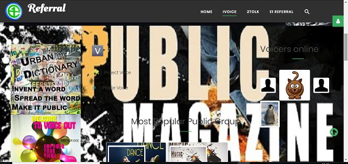 Public Magazin with slider Public Category