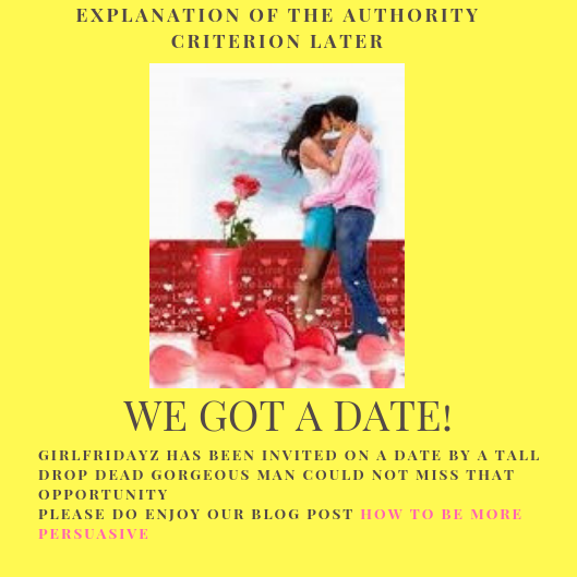We have a date - girlfridayz