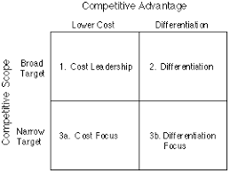 Porter's generic strategies and Value Chain