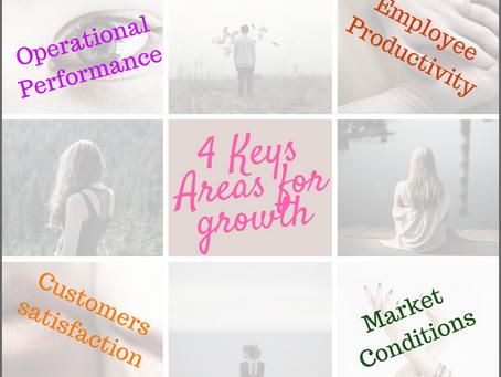 4 Strategic Keys Areas for Growth