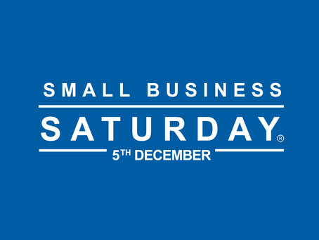 SMALL BUSINESS SATURDAY UK IS BACK 5/12/15