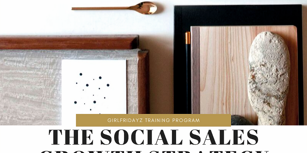 The Social Sales Growth Strategy Training Program