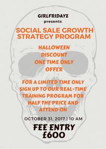 Social Sale Growth Strategy Program