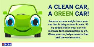 A clean car