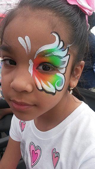 Rainbow Half Butterfly