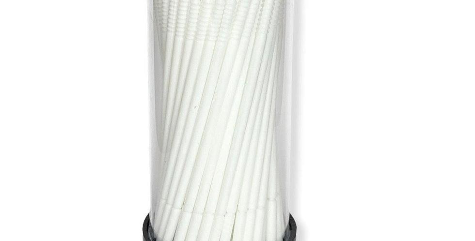 DISPOSABLE WHITE LONG MICROFIBER x 100PS