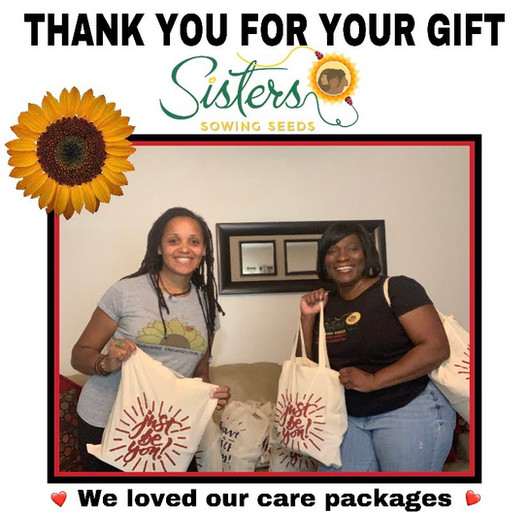 Thank You Sisters Sowing Seeds