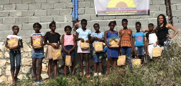 Heliping Girls in Haiti Flouirish