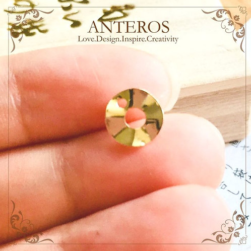 Gold Filled Round Circle Disc, Gold Filled Stamping Disc, Gold Filled Metal Blanks, gold round metal blanks
