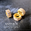 Thumbnail: 2PC Gold Plate Micropave Cubic Zirconia Beads/Spacers(GFB0083)