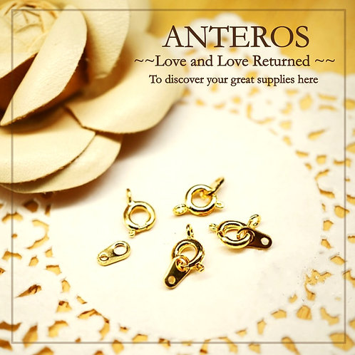 Gold Filled Findings, gold filled clasp & Closure, gold filled Spring Ring, gold filled Open spring Ring With Tag