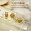 gold large hole pendant holders, diy necklace, necklace charms holder, bracelets charms holder