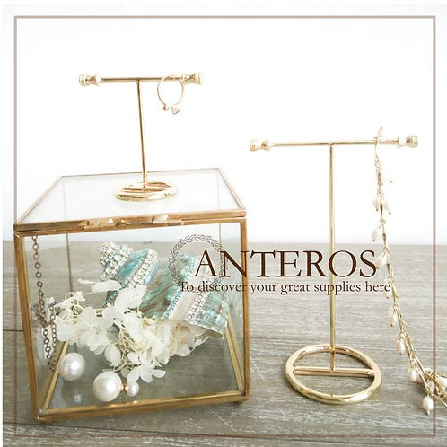 1PC Golden vintage earrings display frame, jewelry display,7.5cm/15cm(JS0010)