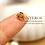 Thumbnail: 10PC Gold Small Simple Flower Bead Caps/Tassel Caps,6mm(GFBC055)