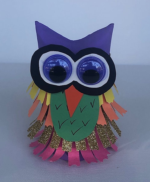 Crafty Paper Owl