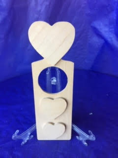 Heart Wood Door Hanger