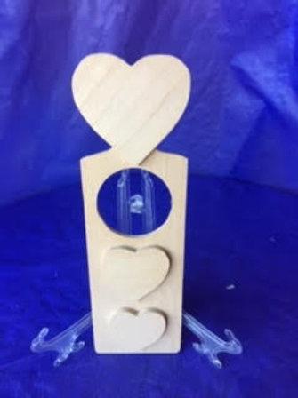 Heart Wood Door Hanger