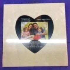 Mixed Media Kit - Heart Frame
